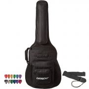 ChromaCast Acoustic Guitar 6-Pocket Padded Gig Bag