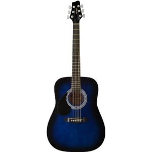 Dreadnought 3:4 Size Acoustic Guitar - Blueburst