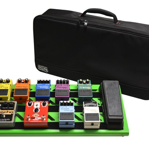 Large Aluminum Pedal Board with Carry Bag