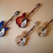 Wall Hanger Display for Electric and Thin Body Guitars 6