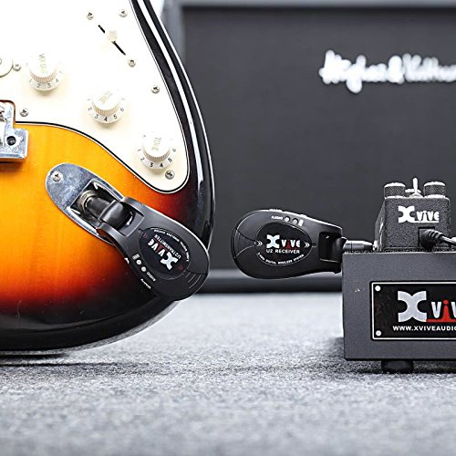 xvive u2 wireless and rechargeable system for guitar. Black Bedroom Furniture Sets. Home Design Ideas
