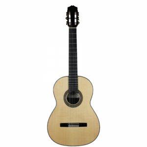 Foto guitarra réplica de Santons Hernández.