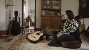 """Gabriela con """"La Maestro"""" en el estudio de Paco"""