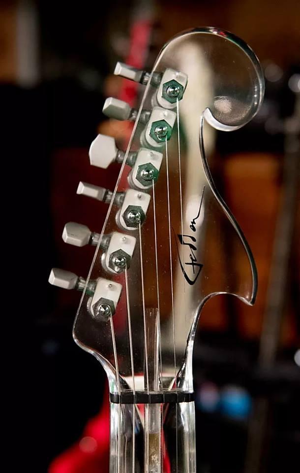 Fedden Fodera Acrylic Guitar