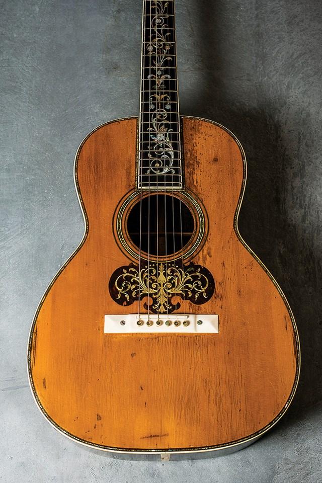 Guitarra martin antigua