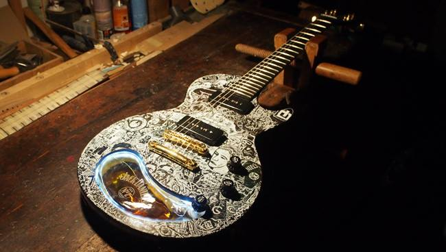 Jack Daniels guitar