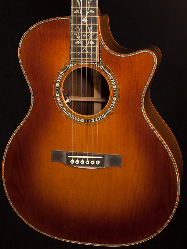 martin acoustic guitarra