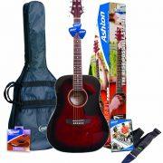 Ashton-D25WRS-Guitarra-acustica-color-Rojo