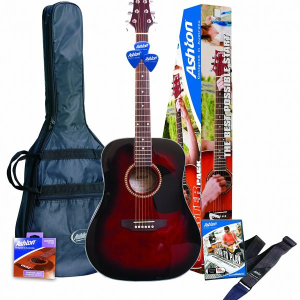 Ashton-D25WRS-Guitarra-acustica-color-Rojo