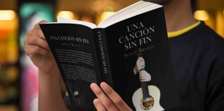 Una novela para los amantes de la guitarra