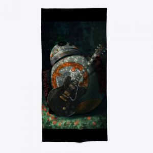 BB-8 guitar towel