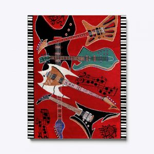 Carpet guitars canvas