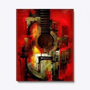 Cuadro Art guitar