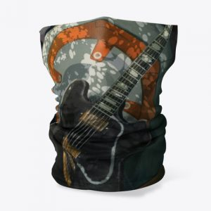 Cubre cuello robot guitar 1