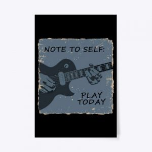 Póster Note to self - Play today