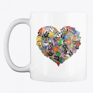 Taza guitar heart